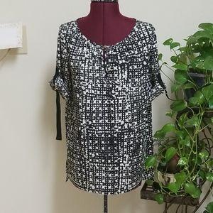 Michael Kors Women's Long Sleeve Blouse Size S
